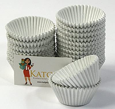 Katgely Disposable Baking Cup Liners Pack of 500