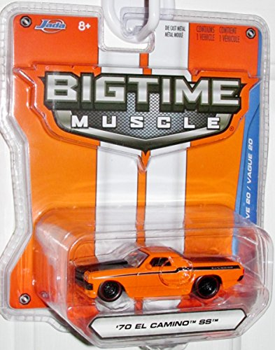 2015 Jada 1:64 Bigtime Muscle '70 El Camino SS Orange #015