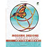Modern Designs Stained Glass Pattern Bookby Anna Croyle