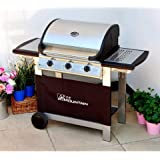 Fire Mountain Everest 3 Burner Gas Barbecue