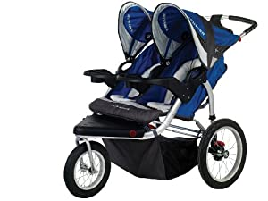 Schwinn Turismo Swivel Double Jogger by Pacific Cycle
