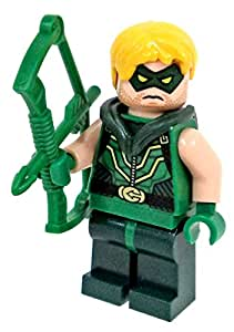 LEGO DC Comics Justice League Super Heroes Minifigure Green Arrow with Bow