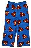 Superman Boys Size 4-12 Fleece Pajama Lounge Pant