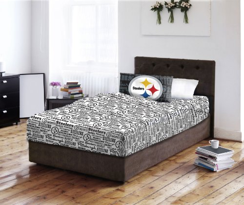NFL Sheet Set NFL Team: Pittsburgh Steelers, Size: Twin at Amazon.com