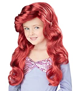 Little Mermaid Costume Wig by California Costume
