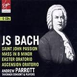echange, troc Andrew Parrott - Bach - Passion selon St Jean / Oratorio de Pâques / Messe en si mineur (Coffret 5 CD)