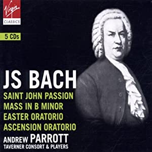 Bach: St. John Passion; Mass in B Minor; Easter Oratorio; Ascension Oratorio [Box Set]