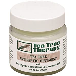 Tea Tree Therapy: Tea Tree Oil Ointment, 2 oz (2 pack)