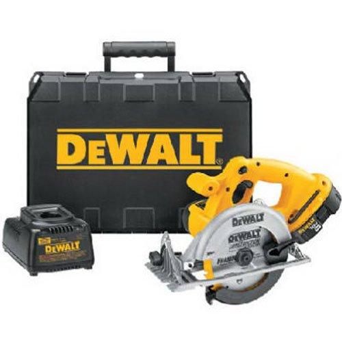 DEWALT-DC390K-18-Volt-Ni-Cad-6-12-Inch-Cordless-Circular-Saw-Kit