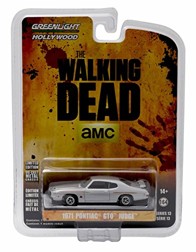 1971 PONTIAC GTO JUDGE from the hit TV show THE WALKING DEAD * GL Hollywood Series 13 * 2016 Greenlight Collectibles Limited Edition 1:64 Scale Die Cast Vehicle