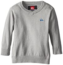 Quiksilver Baby-Boys Infant Holey Foley Sweater, Haggis, 6-9 Months