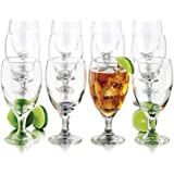 Libbey 12-Piece Goblet Party Glass, 16.5-Ounce, Clear