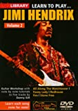 echange, troc Learn to Play Jimi Hendrix 2 [Import anglais]