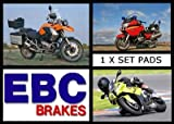 EBC H304 REAR BRAKE SHOES HONDA CLR 125 CITY FLY CLR125