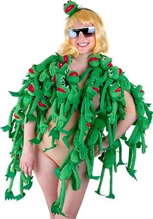 Amazon.com: Adult Lady Frog Halloween Costume: Adult Sized Costumes