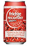 Kitsch'n'Fun Fridge Guard Novelty Pop Can with Voice Message