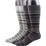 RioRivaメンズビジネスソックス フォーマル紳士靴下 綿混 抗菌防臭 25-27㎝ (26-29cm, MSK68- 4足組)