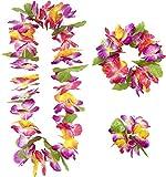 Set Hawai de flores - Única