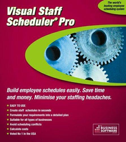 Visual Staff Scheduler PRO 6.0