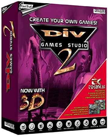 DIV Games Studio 2 with 3D (includes FREE game Tokenkai)