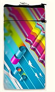 Active Elements sensational Multipurpose both side printed, waterproof Smart mobile pouch Design No-PUC-18051-S Comfortably Fit for Phone Size up to IPHONE 5/4 /5-C Etc.