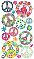 Sticko Floral Peace Signs Stickers from ...