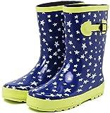 (セレブル) Celeble レインブーツ キッズ 女の子 男の子 ジュニア 長靴 雪 子供靴 スターネイビー 20.0