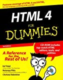 HTML 4 For Dummies (For Dummies (Computers)) (0764507230) by Tittel, Ed