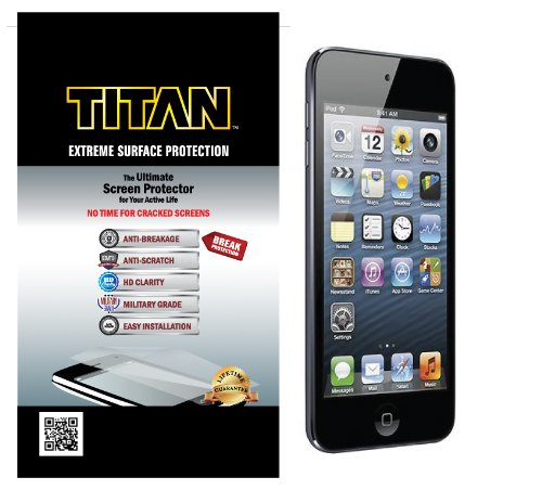 TITAN EXTREME SURFACE PROTECTION Screen Protector for iPod Touch 5th Generation with Break and Scratch Protection at Sears.com