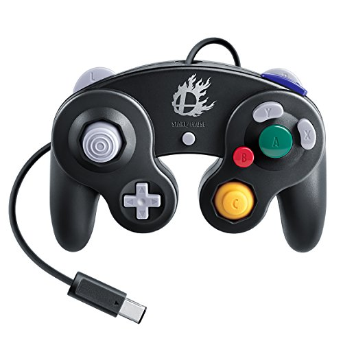 Nintendo Super Smash Bros. Black Classic Gamecube Controller (Gamecube Super Smash Bros Melee compare prices)