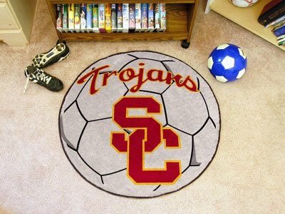 FANMATS University of Southern California Soccer Ball Mat