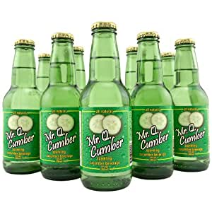Mr. Q. Cumber Cucumber Soda - 7 oz