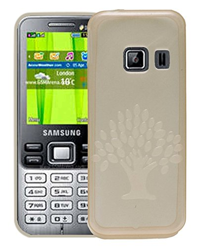 Samsung Metro Duos C3322 Case,White Soft, Lightweight,Shock Absorbing Tpu Back Case Cover  available at amazon for Rs.195