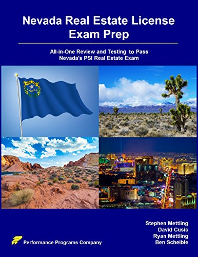Stephen Mettling - Nevada Real Estate License Exam Prep: All-in-One Review and Testing To Pass Nevada's PSI Real Estate Exam