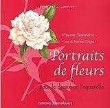echange, troc Karine Ciupa - Portraits de fleurs : Pour le dessin et l'aquarelle