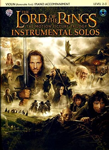 The Lord of the Rings Instrumental Solos for Strings: Violin (with Piano Acc.), Book & CD (Sheet Music Violin compare prices)