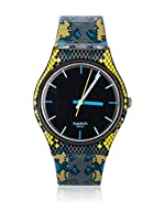 Swatch Reloj de cuarzo Unisex SNAKY BLUE GB254 34 mm