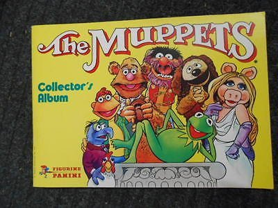 The Muppets Panini vintage sticker book 1980s