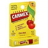 Carmex Lip Balm, Moisturizing, Cherry, Click Stick