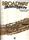 Broadway Showstoppers: Piano/Vocal/Chords
