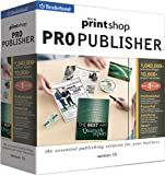 The Print Shop Pro Publisher 15