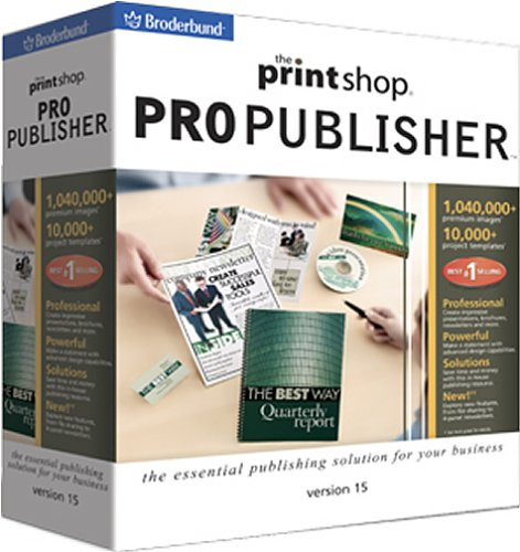 The Print Shop Pro Publisher 15B000066HAO : image