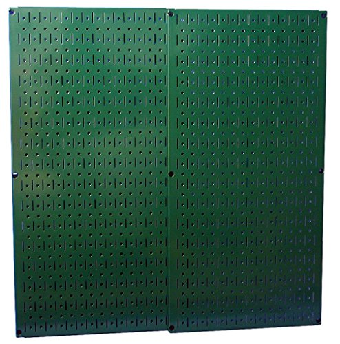 Wall Control 30P3232GN Green Metal Pegboard Pack with Two Pegboard Tool Boards (Metal Building Brackets compare prices)