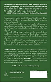Get What's Yours: The Secrets to Maxing Out Your Social SecurityHardcover– February 17, 2015