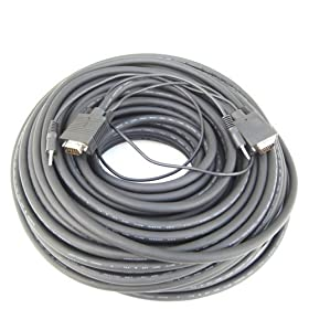 RiteAV - SVGA Monitor Cable with 3.5mm Audio - 50 ft.