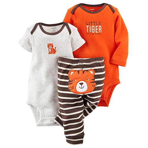 Carter's Baby Boys' 3 Piece Take Me Away Set (Baby) - Tiger 3M