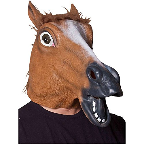 Sorrel Horse Head Mask - One Size