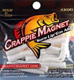Leland Crappie Magnet Body 15pk White Md#: CM15-W