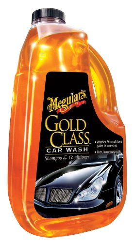 Meguiar's Gold Class Car Wash Shampoo and Conditioner, 64oz.