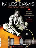 Davis Miles For Solo Guitar Tab Bk/Cd